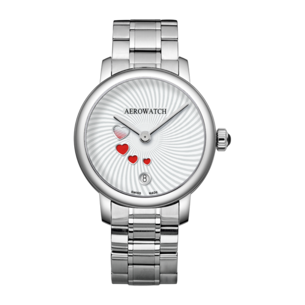 Aerowatch Swirl & Swirling Love bracelet métal