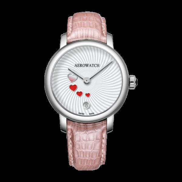 Aerowatch Swirl & Swirling Love bracelet rose