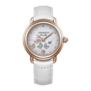 Montre Aerowatch Butterfly, Optique jeanmonod, Vallorbe