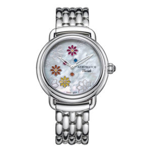 Montre Aerowatch 1942 Floral, Optique jeanmonod, Vallorbe, Suisse