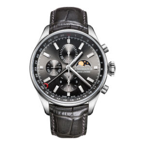 Montre Aerowatch Chrono Moon Phase Limited Edition, Optique jeanmonod, Vallorbe, Suisse