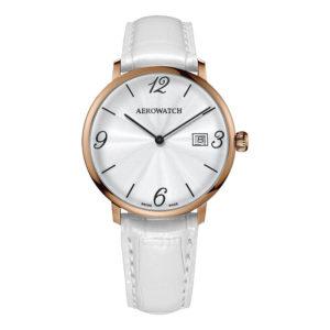 Montre Aerowatch Heritage Slim Quartz, Optique jeanmonod, Vallorbe